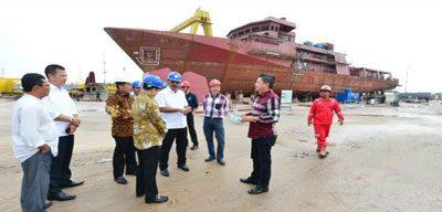 Produk Kapal Buatan Kepri Diakui Dunia