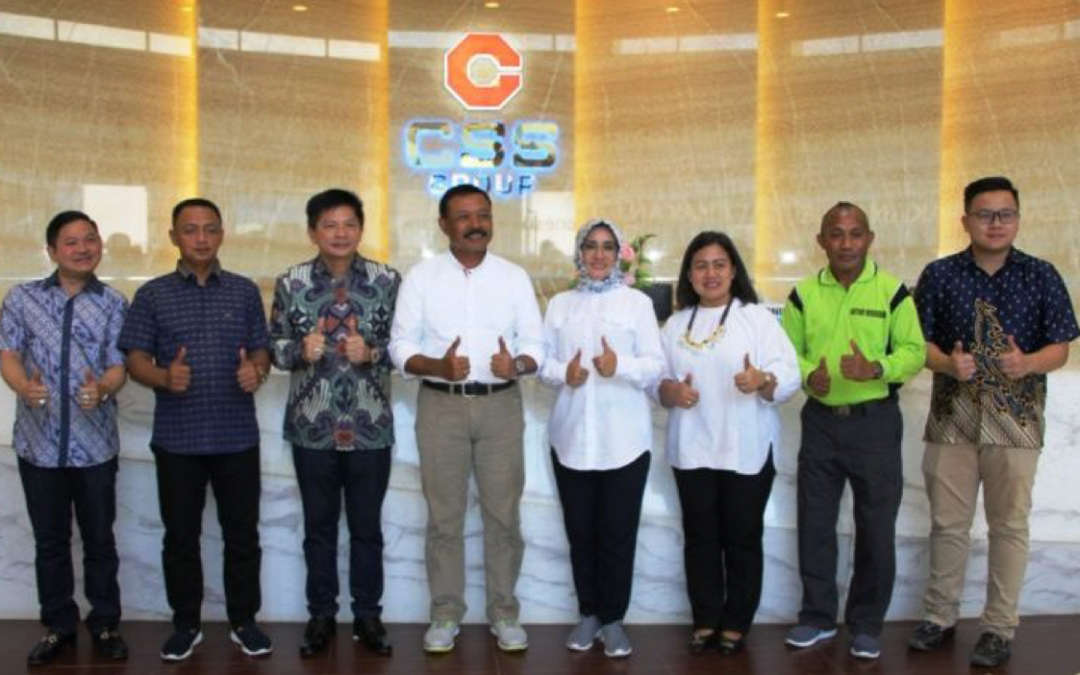 Mayjen TNI Ibnu Triwidodo Berkunjung ke Galangan Kapal Citra Shipyard di Batam